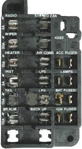 corvette fuse box diagram image details corvette fuse box diagram