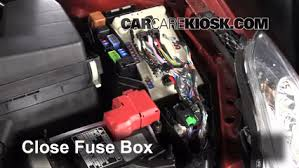 replace a fuse 2007 2013 nissan altima 2011 nissan altima sr 3 5l 2012 nissan altima fuse box diagram 6 replace cover secure the cover and test component