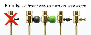 lamp knob switch perfect a better way to turn on your lamp floor lamp turn knob