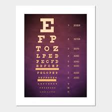 Eye Chart Poster Custom Eye Chart