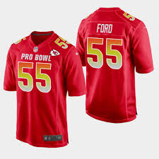 Bowl Chiefs Pro Ford Dee Afc Jersey 2019 Game Red 55 -