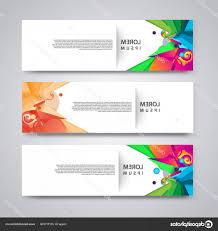 Flyer Header Stock Illustration Flyer Template Header Design Banner