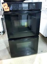 thermador wall oven black double wall oven jays therm wall oven dimensions