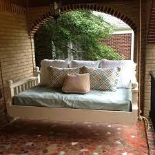 hanging custom built daybed swing bed diy