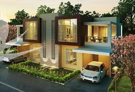 rumah minimalis modern 1 dan 2 lantai