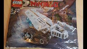 Lego Ninjago Movie Zane's Ice Tank Polybag Set Picture (NINJAGO NEWS) -  YouTube