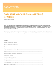 Datastream Charting Getting Started