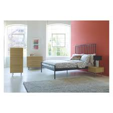 King Size Bedroom Lucia Grey Metal Kingsize Bed 150cm Buy Now At Habitat Uk