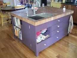 Artistic Kitchen Island With Sink Acnn Decor