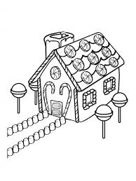 Small Picture Get This Preschool Gingerbread House Coloring Pages to Print Drx0J