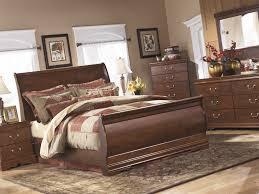ashley traditional bedroom furniture. ashley sleigh bed | furniture metal beds ledelle traditional bedroom