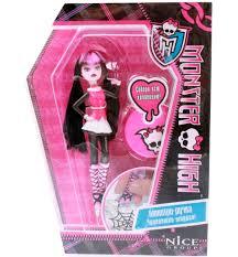 <b>Кукла</b>-<b>ручка</b> с подставкой Monster High 3D <b>Doll pen</b> 4 Assorted ...