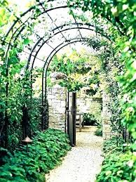 garden archway for garden arbors for metal garden arbor with bench metal arch for