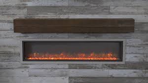 64 built in linear electric fireplace the outdoor greatroom company