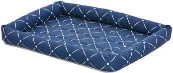 Лежак для животных <b>MidWest Ashton</b>, цвет: синий, 61 х 46 см ...