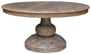 round table with pedestal base