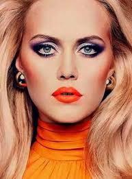70 s makeup makeup nailpolish makeup 70s makeup and eyeshadow