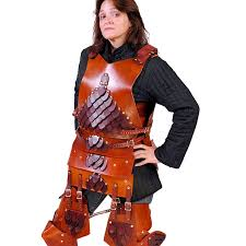 scaled leather armor cuirass