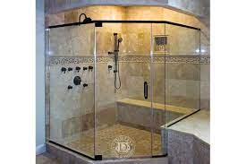 neo angle shower frameless shower doors
