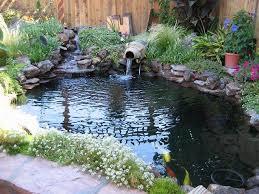 Small Picture Garden Pond Ideas Waterfall Gardening flowers 101 Gardening