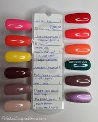 Opi Purple Color Chart Pin By Polished Designs On Nails Gel Nails Opi Gel Nails