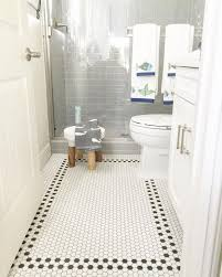 flooring attractive bathroom floor tile ideas for small bathrooms using  tumbled travertine with stainless steel drain