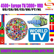 Spanish Tv Chanel 1 Year Sinotv Subscription French Germany Portugal Spanish