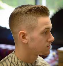 mens haircut short on sides long on top