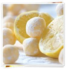 low carb white chocolate lemon truffles great for the holidays and gifts to family and