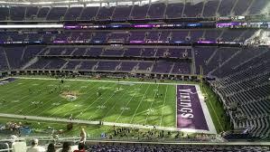 U S Bank Stadium Section 207 Minnesota Vikings