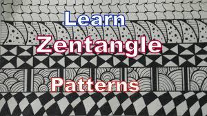Zentangle Patterns Easy Best Decorating