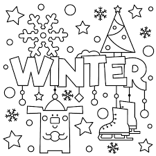 Free printable coloring pages for kids! Winter Puzzle Coloring Pages Free Printable Winter Themed Activity Pages For Kids Printables 30seconds Mom Coloring Pages Winter Coloring Pages For Kids Coloring Pages