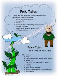 Fairy Tale, Folktale Characteristics Poster | Language arts ...