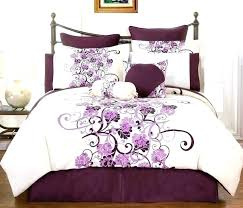 rple comforter sets king black deep size quilt bedding bedroom set plain lilac bedspreads queen purple