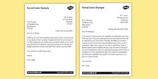 formal letter example formal letter examples ks2 formal writing example texts