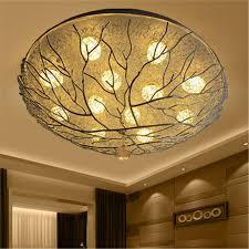 Art Deco Ceiling Light Us 95 9 30 Off Art Deco Creative Bird Nest Ceiling Lamp For Children Bedroom Kitchen Luxury Living Room Lights Stairs Led Ceiling Light Fixture In