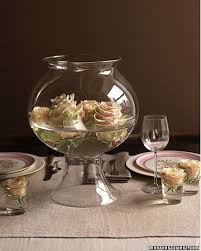 Fish Bowl Decorations For Weddings Roses in a Fish Bowl Centerpieces Budget Brides Guide A 65