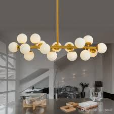 gorgeous bubble light fixture on g4 modo gold modern led chandelier fitting