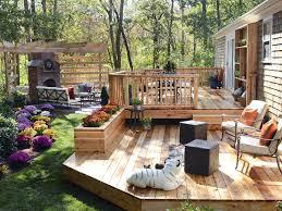 ... Large Size Deck Designs Ideas Hgtv Patio Ideas ...