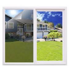Essort Sonnenschutz Fensterfolie Selbsthaftend Spiegelfolie Für Fenster Folie Für Sonnenschutz Fenster Außen Und Innen Sonnenschutzfolie Für