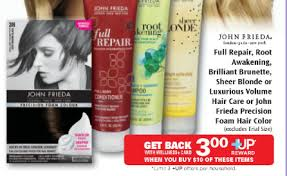 All of coupon codes are verified and tested today! John Frieda Precision Foam Hair Color For 99 At Rite Aid