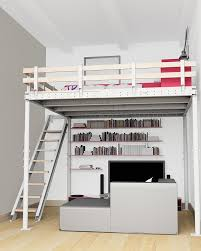 DIY Kit To Add A Mezzanine Wherever You Want By Tecrostar Home
