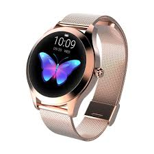 Smart Watch <b>IP68 Waterproof Women Lovely Bracelet</b> Heart Rate ...