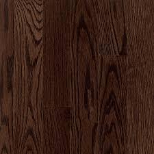 Dark Hardwood Floor Sample Vintage Pioneered Red Oak Chariot Smooth