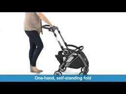 graco snugrider elite stroller and car