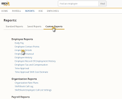 Example Active Employees By Department Everest Support