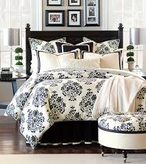 evelyn black and white damask bedding black and white white and black
