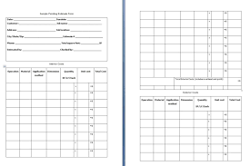 free estimate forms templates painting estimate form template free formats excel word