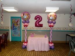 Princess Balloon Decoration Princess Party Decoration Ideas Anna Party Dessert Table Pink