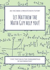 Tutor Flyer Templates Math Tutor Flyer Magdalene Project Org